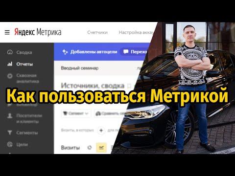 Яндекс Метрика - ДЛЯ НОВИЧКА