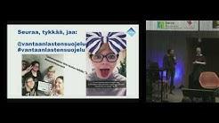 Tuuli Kotisaari ja Hanna Holmberg Vantaan lastensuojelu