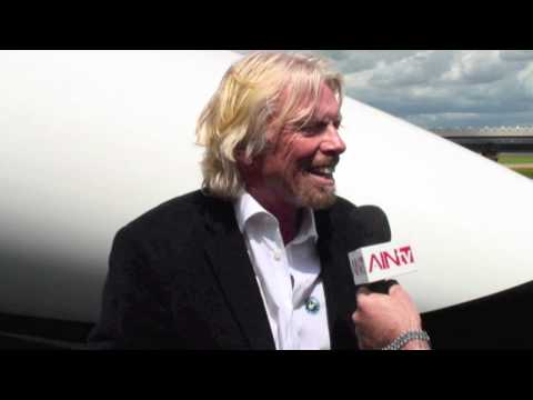 Interview with Virgin Galactic Founder, Sir Richard Branson