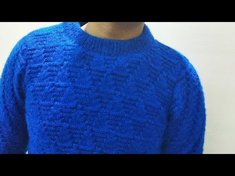 Gents Full Sweater Knitting Part 2