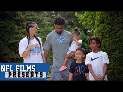 Darius Slay: From Single Dad to Brady Bunch Family   NFL Films Presents