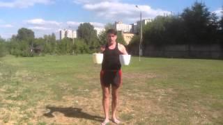 Андрей Синицын: ледяная вода, флешмоб
