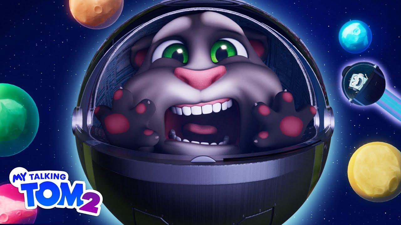 🚀 Race in Space! 🏆 My Talking Tom 2 (NEW Cartoon Trailer)