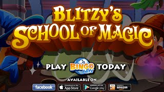 Bingo Blitz - Blitzy's School of Magic Trailer