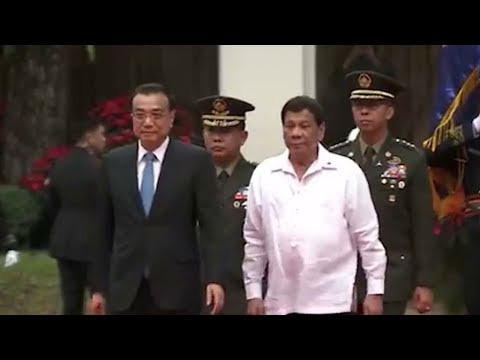 Premier Li and Pres Duterte boast warm relations, strong bilateral ties