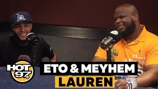 Eto & Meyhem Spit Some Bars + Talk About Supply & Demand w/ Rosenberg