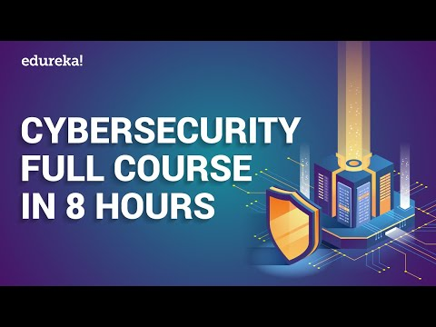 Cyber Security Full Course In 8 Hours | Cyber Security Tutorial | Cyber Security Training | Edureka
