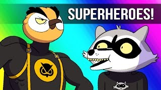 Vanoss Gaming Animated: Bat Owl & Batcoon - Stopping the Train!