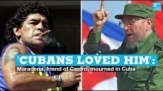 'Cubans loved him': Maradona, friend of Castro, mourned in Cuba