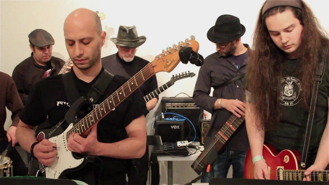 Mobile guitar project Tilted Axes returns to Detroit with trio of