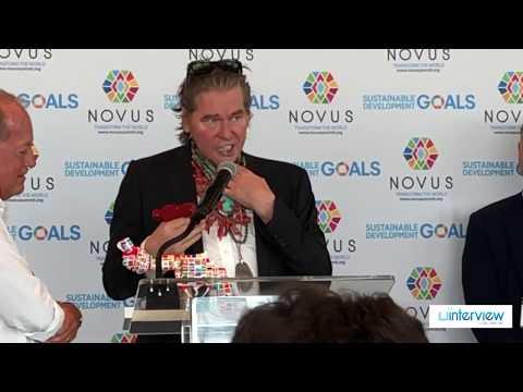 Val Kilmer Struggles To Speak At Novus Summit After Cancer Scare