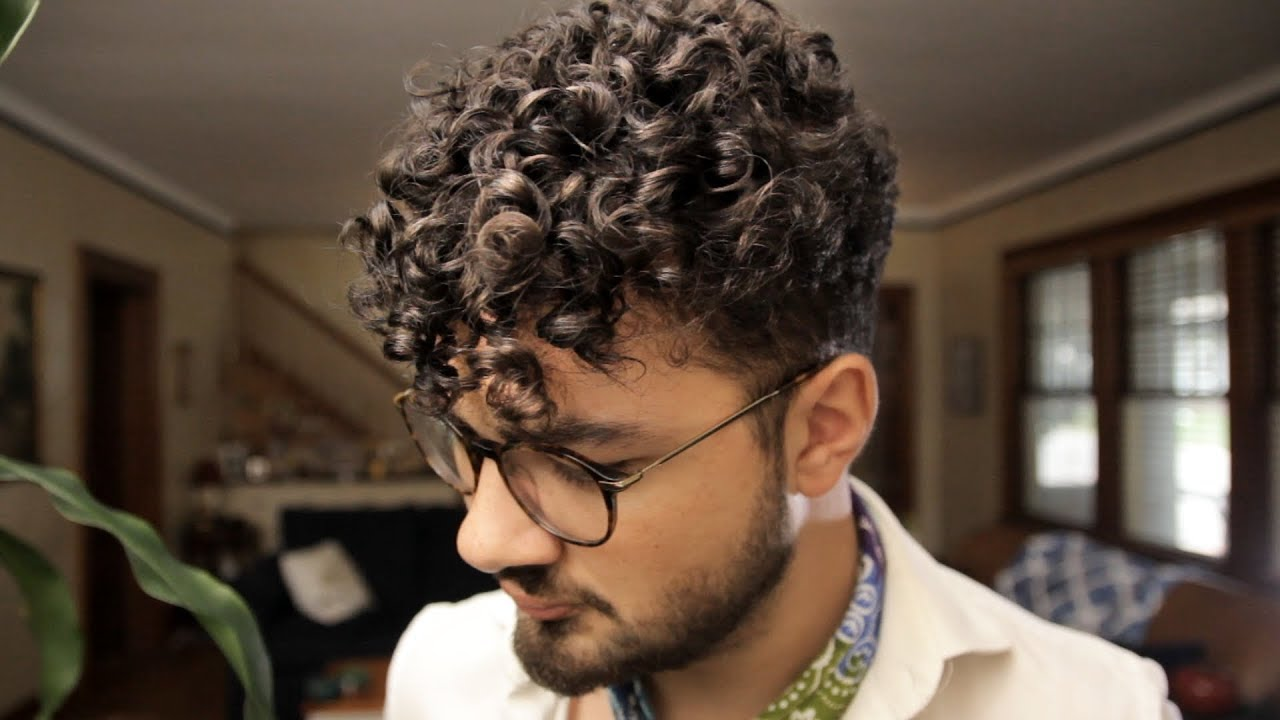The Easiest Hair Guide For Men With Super Curly Hair Youtube