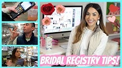 Wedding Registry Tips and Ideas + Our Experience! | ALEXANDREA GARZA