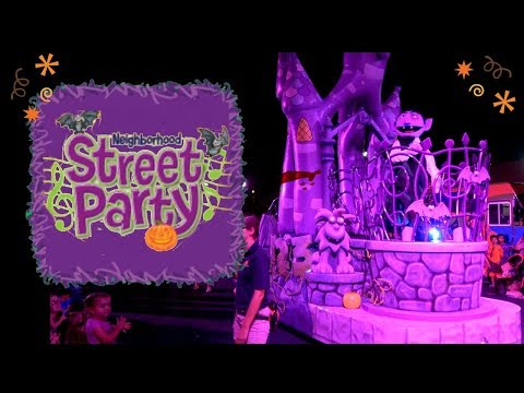Sesame Place Halloween Parade