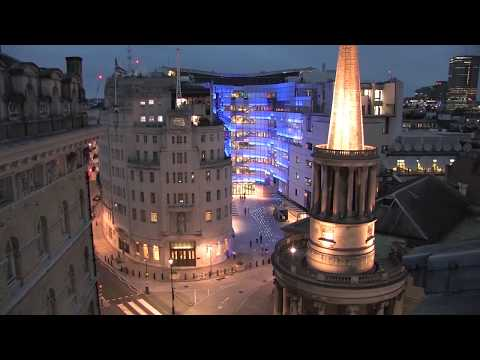 BBC New Broadcasting House - One Day in 1 Minute Time-Lapse