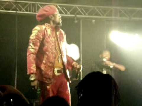 beenie man @ the power zone-amsterdam 20-6-2010