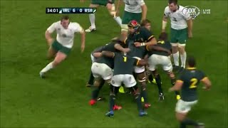 Springboks maul left stumped by Ireland