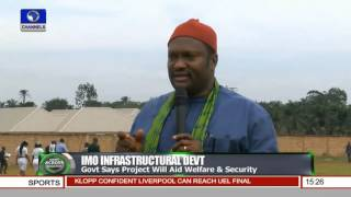 News Across Nigeria: DG NYSC Donates Relief Materials To IDPs Pt.3