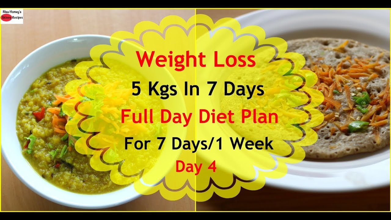 Diet meals to lose weight