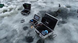 Сравнение подводных камер для рыбалки - часть 2|Язь 52(Компакт)|Водоглаз-2|JJ-Connect|FishCAM-Eyoyo