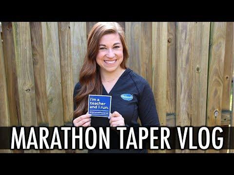 Tapering for the Boston Marathon Vlog | Pocketful of Primary