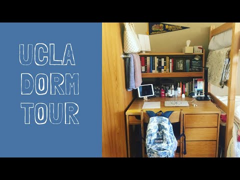 Dorm Tour! // UCLA Deluxe Triple (De Neve Holly) - YouTube