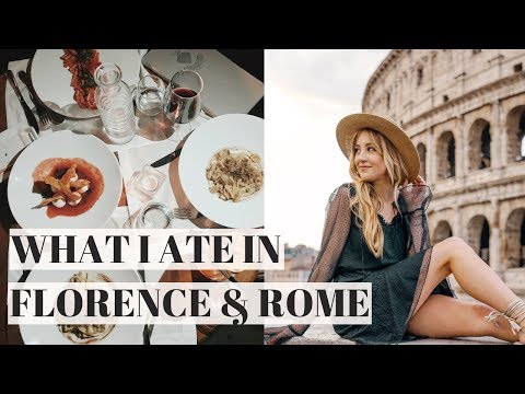 WHAT I ATE IN ITALY PART 1 {VEGAN} | FLORENCE/ROME
