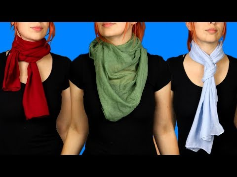 12 Different Ways To Tie Your Scarf