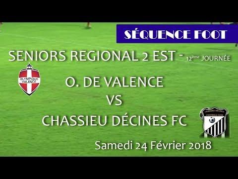 2018_02_25 Séquence Foot - SR2 12ème journée - OV vs CHASSIEU
