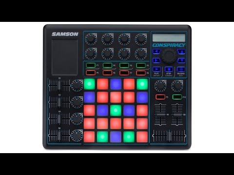 Samson Conspiracy MIDI Control Surface Demo by Sweetwater Sound