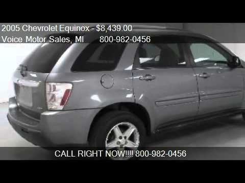 2005 chevrolet equinox lt awd 4 door for sale in for Voice motors kalkaska michigan