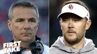 Who should coach the Cowboys next: Lincoln Riley or Urban Meyer? | First Take