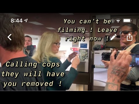 Huntington Beach City Hall Massive Audit Employees Lose It Over Camera Cops Arrive It Gets Shutdown