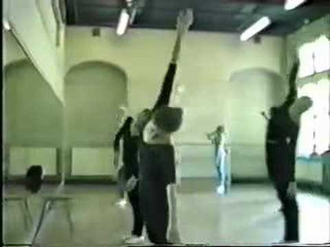 European Based (Jooss Leeder) Contemporary Dance Technique Class, teacher ,Viv Bridson