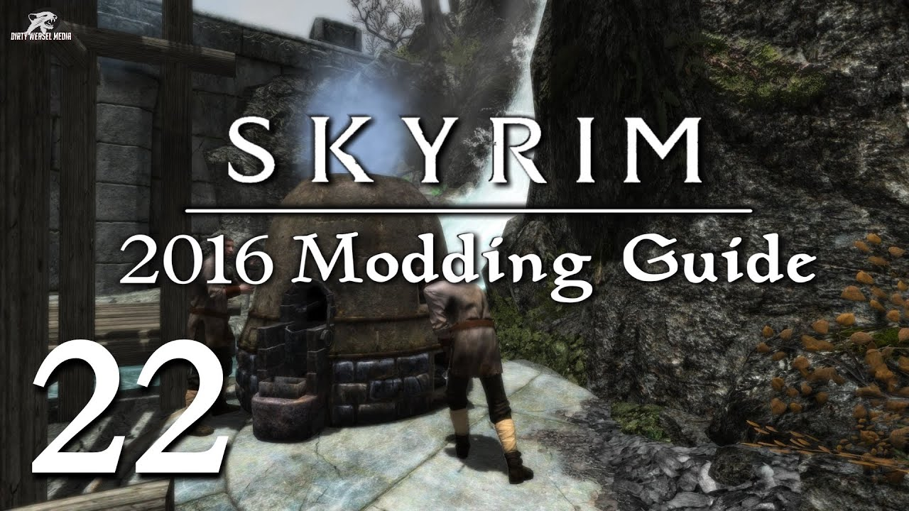 2016 Skyrim Modding Guide Ep 22 - Fix Lip Sync and Crash Fixes