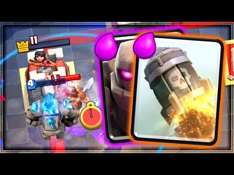 Clash Royale - GOLEM ROCKET! New Meta Deck