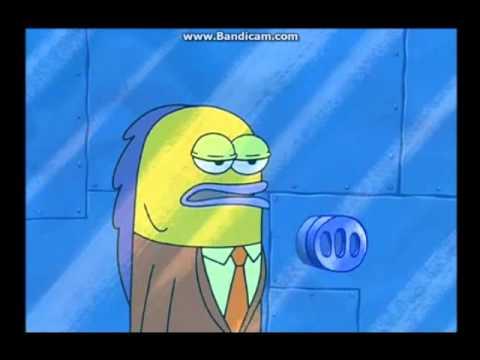 Spongebob robs a bank [ORIGINAL]