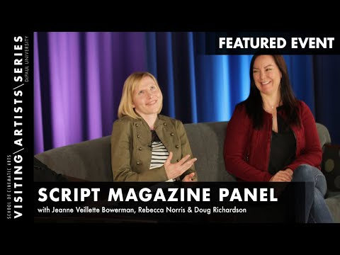 Script Magazine Panel Courier 12 Writer's Conference 2015 Pa