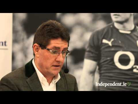 Paul Kimmage on why he quit Brian O'Driscoll autobiography in Elverys Dundrum