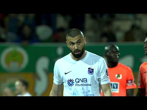 A. Alanyaspor 1 - 2 Trabzonspor #Özet