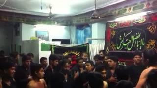 ANJUMAN-e-DASTE SHOHADA MATAM AT PANJETANI HYDERABAD .