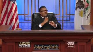 Dynamike Presenting Magic on Judge Mathis Show