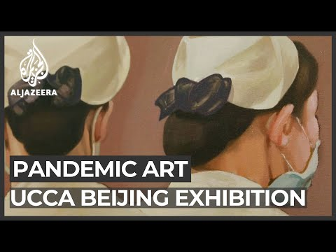 Beijing art exhibition reflects on life during the pandemic