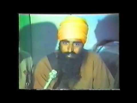 Sant Jarnail Singh Khalsa Bhindranwale INTERVIEW - 89 Min