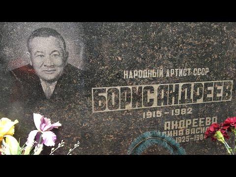 Ваганьковское кладбище (часть 1)