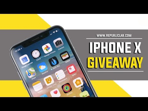 iPhone X Giveaway 2019 - Participate to Win an iPhone X !