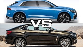Bild-Vergleich-BMW-X6-M-F86-Audi-Q8-Concept-2017-04 Audi Q8 Vs Bmw X6 M