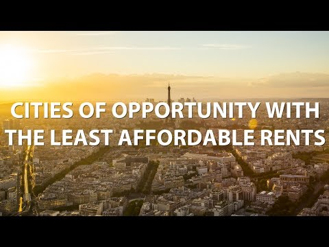 Cities of Opportunity with the Least Affordable Rents - RENTCafé