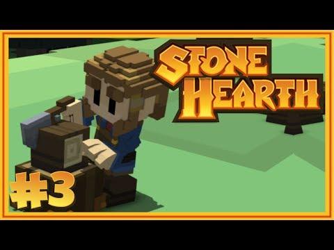 SURLARI DİKMEYE BAŞLADIK Ve YENİ KÖYLÜ - Stone Hearth Türkçe - S2 #3