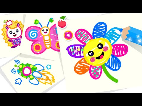 Bini Toddler Drawing Apps! Coloring Games For Kids - Apps On Google Play